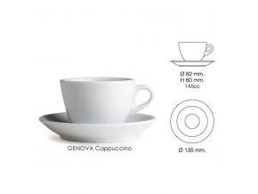 salek nuova point genova cappuccino original