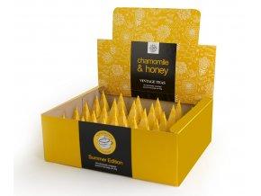 Kamilka s medom pyramídové čaje 30 ks