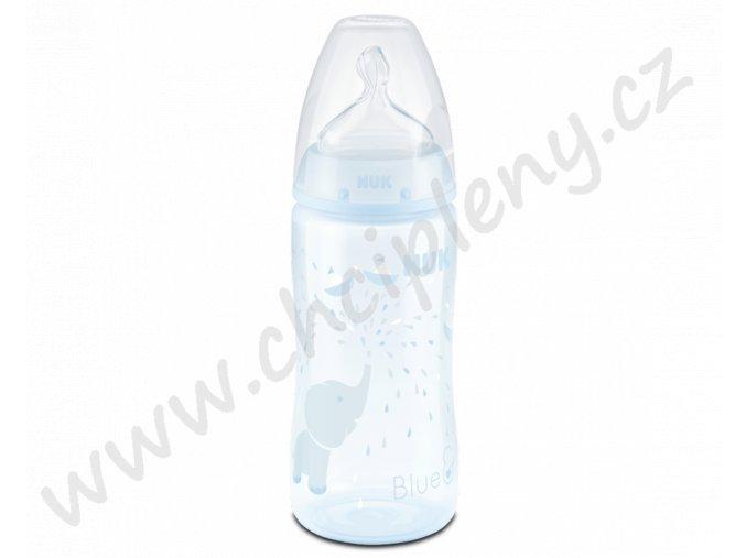 Flaška 300ml modrá + text