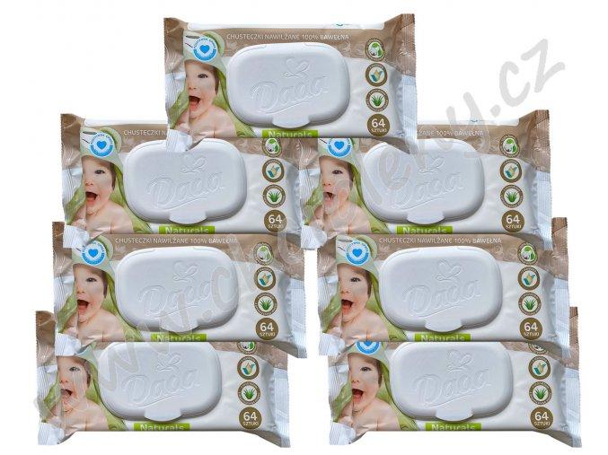 6+1 ubrousky bavlněné NA vodoznak CZ