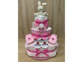 Plenkový dort Třípatrový