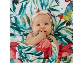 Flowery Grace (120x120cm)