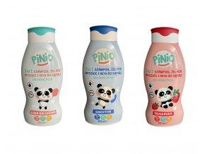 Pinio šampón, sprchový gel a pěna do koupele 3v1