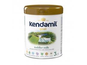 Kendamil batolecí kozí mléko 3 DHA+ 800 g vodoznak CZ