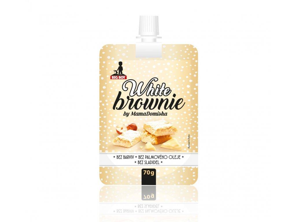 big boy kapesni baleni white brownie by mamadomisha 70g