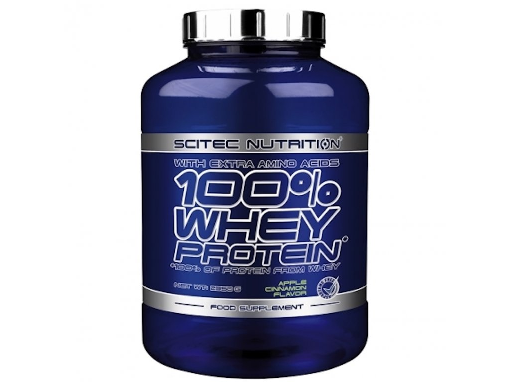 scitec 100 whey protein 2350g