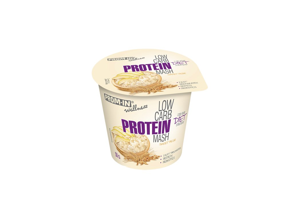 """Prom-in Low carb protein mash """"ready to eat"""" 50g"""