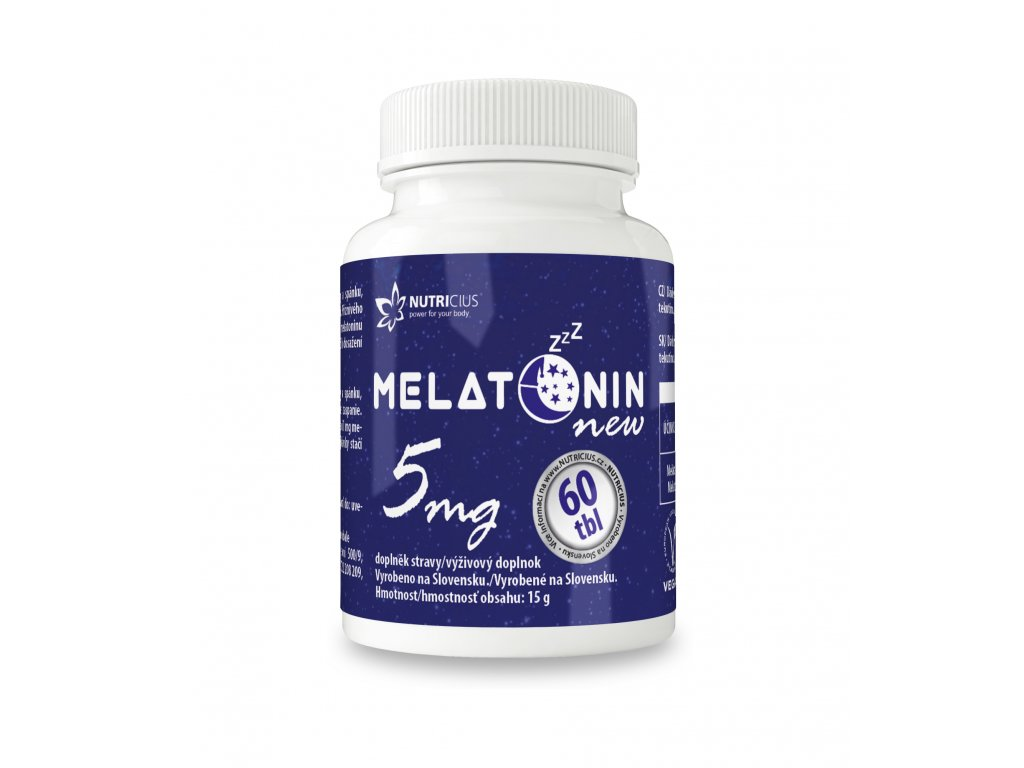 vyr 39 MELATONIN NEW 5mg 149x45mm CZ SK VIZUAL