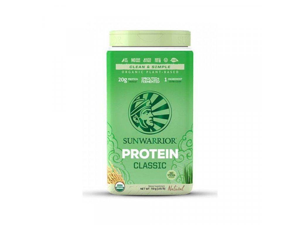 11094 1 sunwarrior protein classic bio 750 g natural