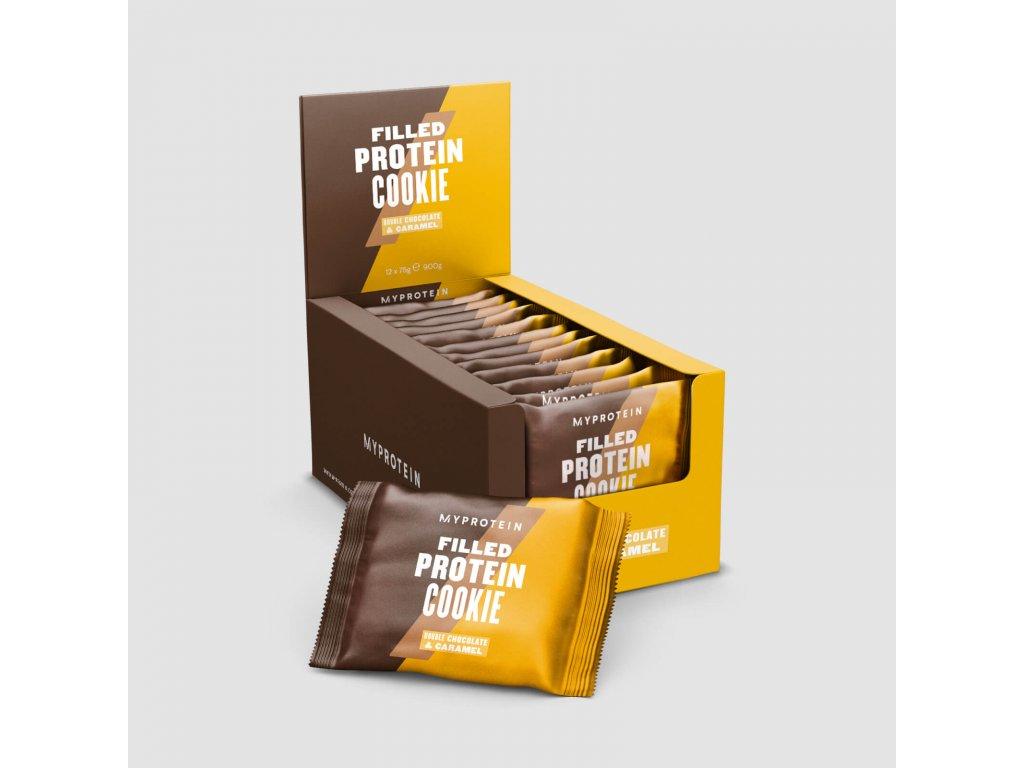 Myprotein Plněné proteinové cookies 75g
