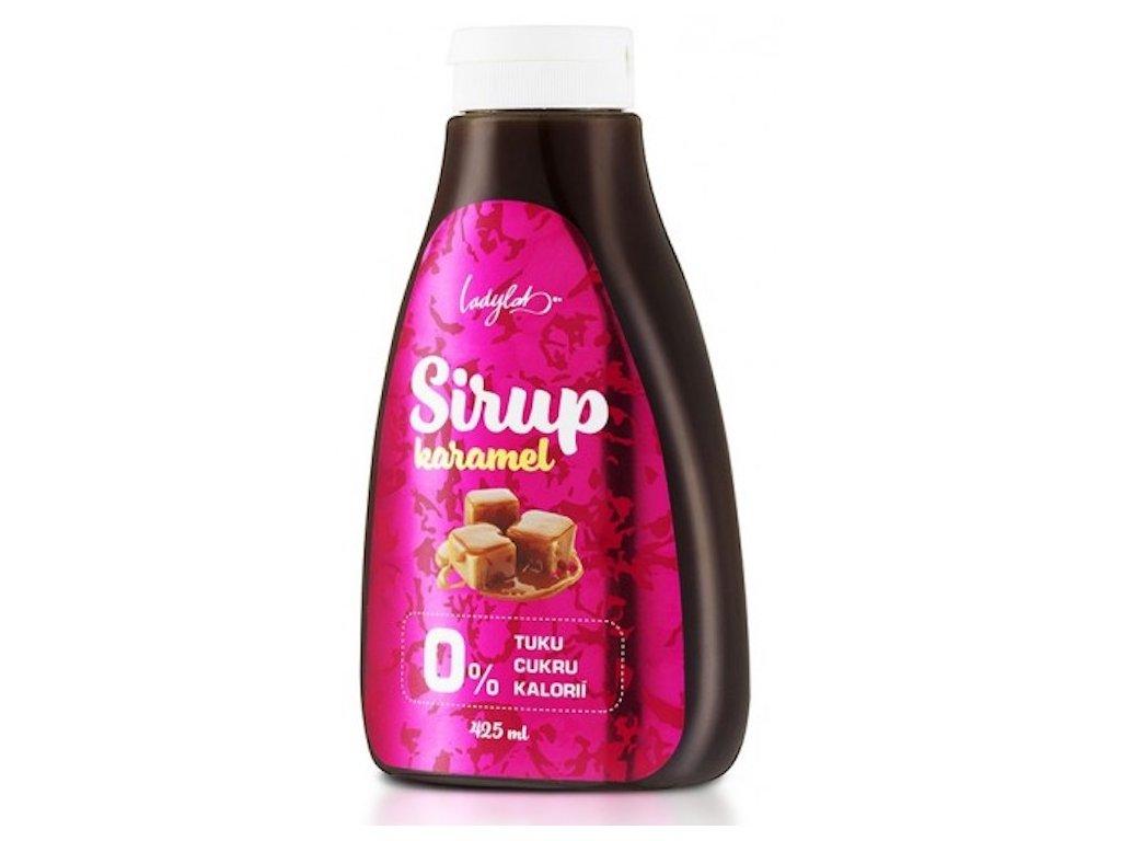 zero sirup karamel