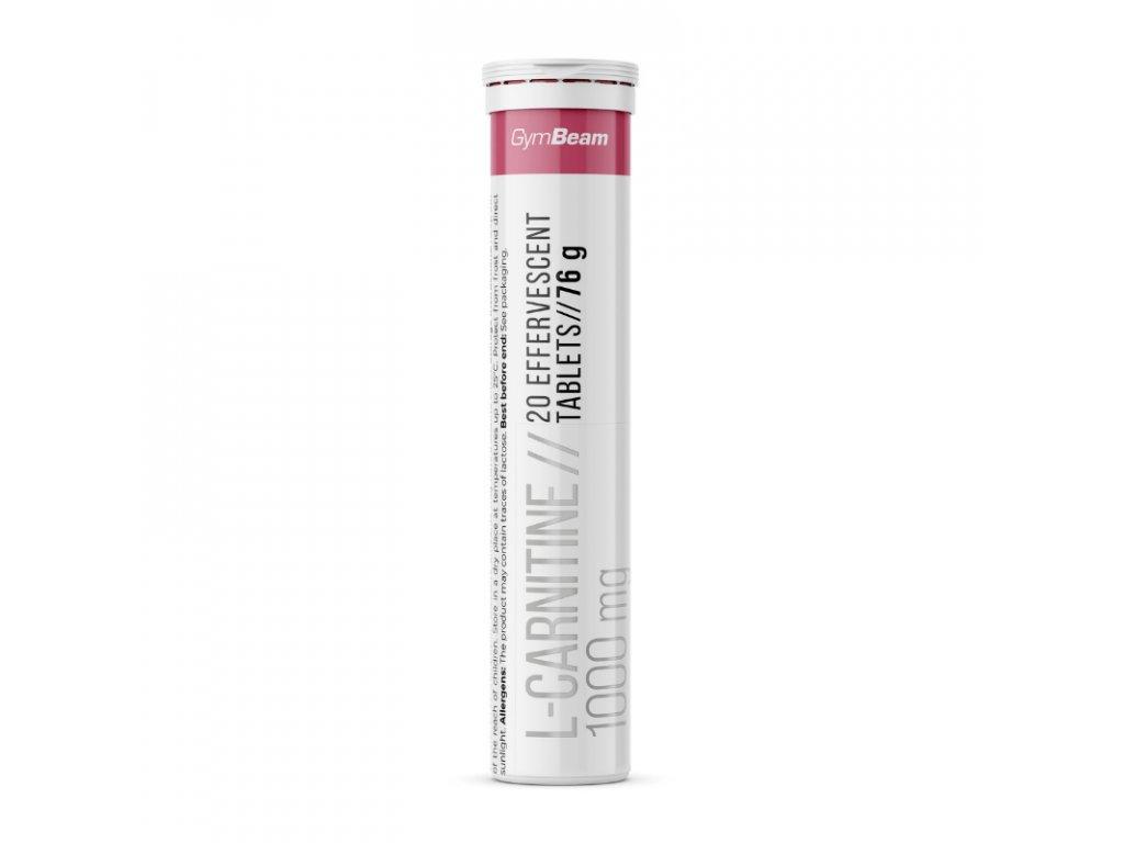 GymBeam L-carnitine 1000 mg 20 tab
