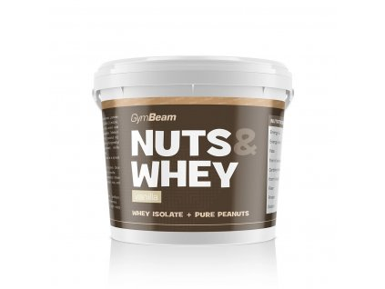 GymBeam Nuts & Whey 1000 g