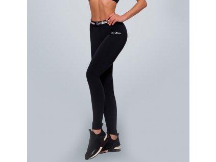 simple black leggings1
