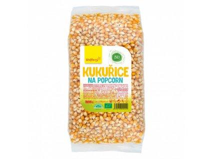 kukurice na popcorn bio 1000 g wolfberry