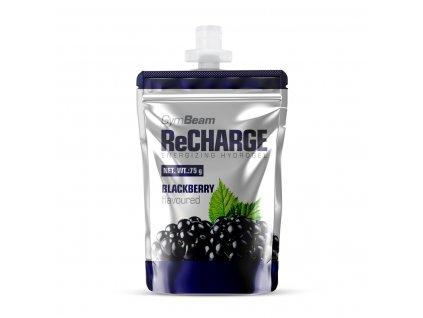 energy gel recharge 75 g blackberry gymbeam