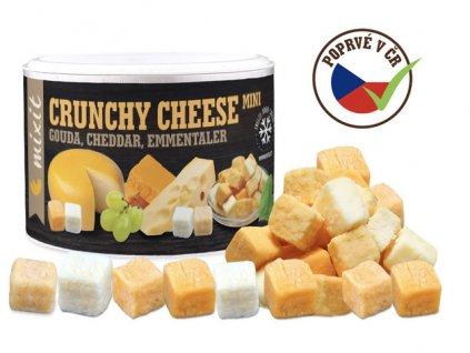 Mix křupavých sýrů Gouda Čedar Ementál