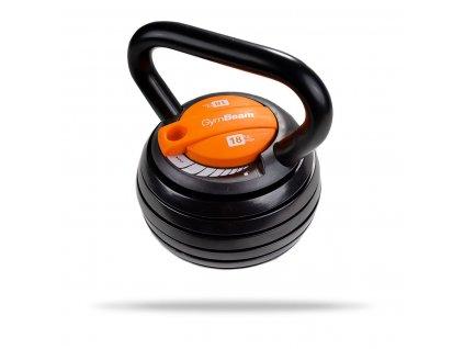 adjustable kettlebell 4 5 18kg gymbeam 1