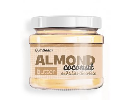 almond coconut butter white chocolate gymbeam