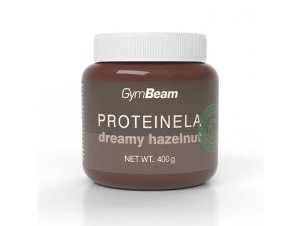 proteinela gymbeam dreamy hazelnut 400 g.