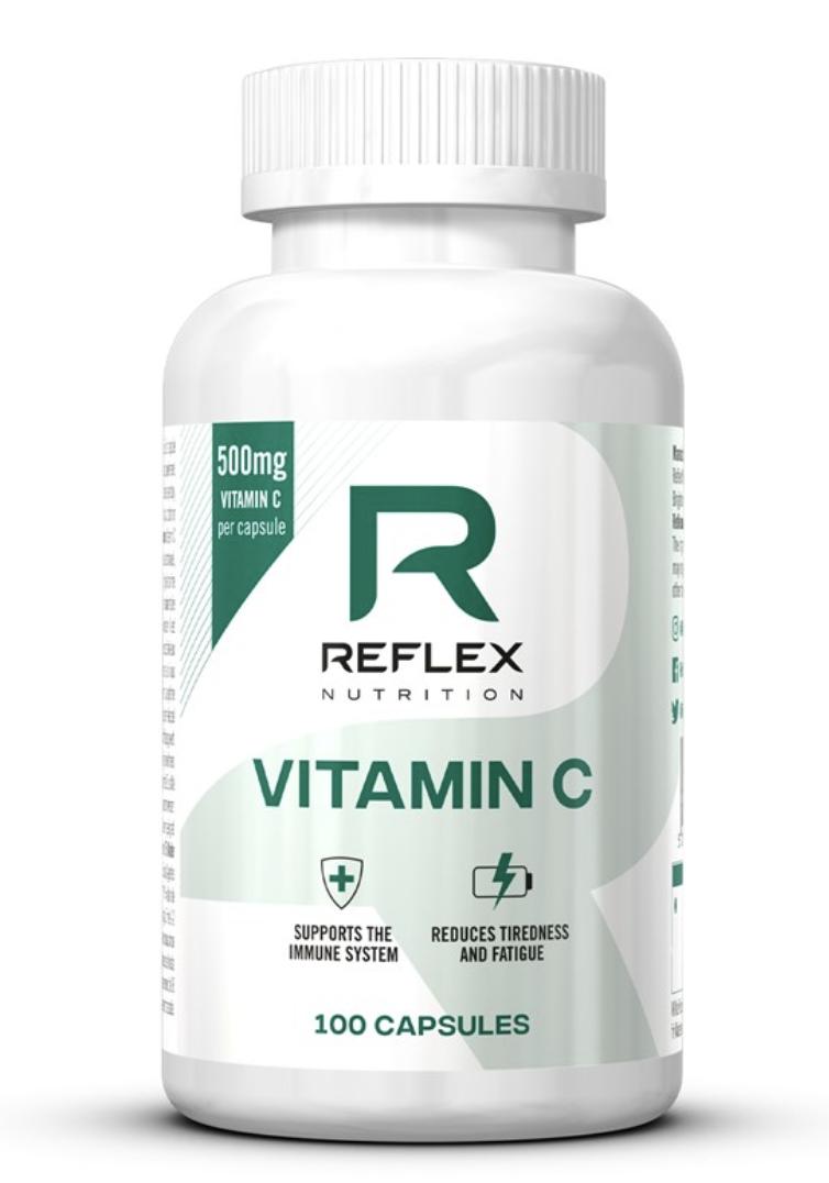 Reflex- Vitamin C 500mg Hmotnost: 100 tablet