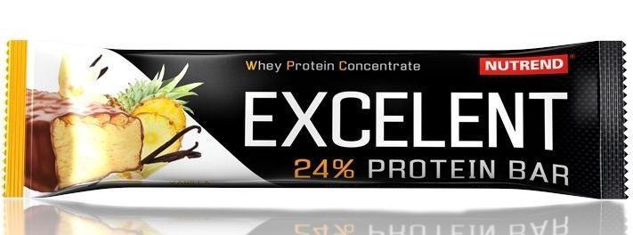 Nutrend Excelent Protein Bar 85 g Příchuť: Ananas + kokos
