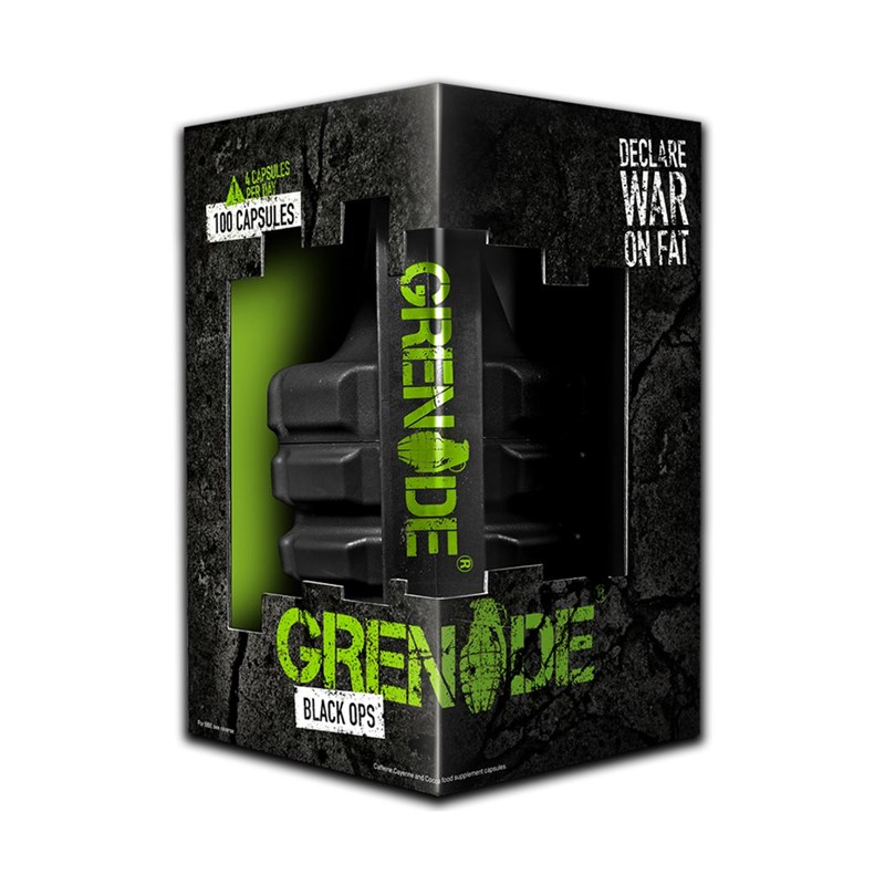 Grenade Black Ops Hmotnost: 100 tablet