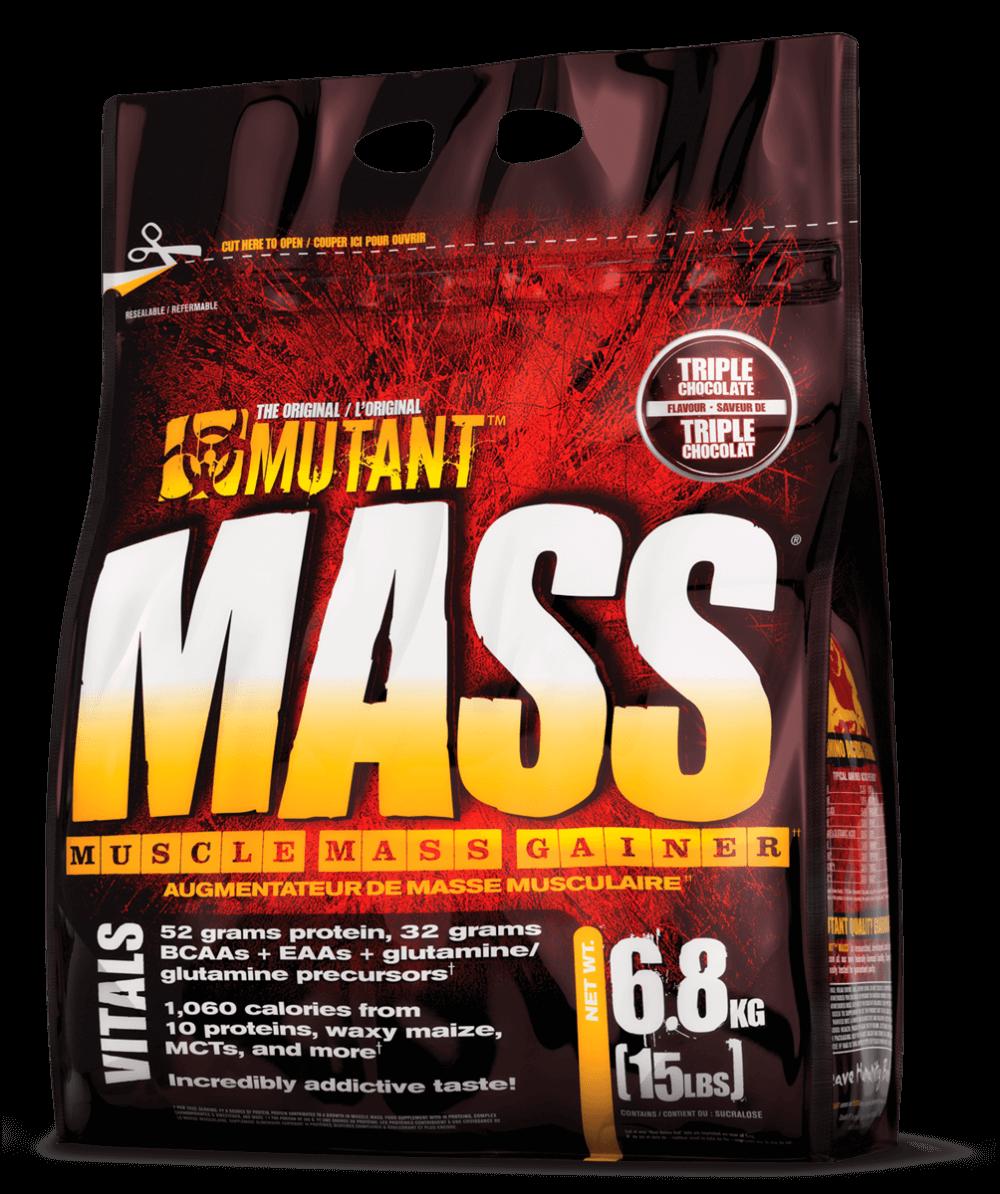 PVL Mutant Mass Příchuť: Čokoládové brownies, Hmotnost: 6800g