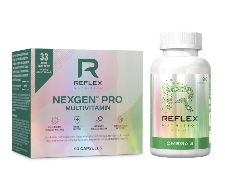Reflex Nutrition Nexgen Pro + Omega 3 Hmotnost: 90+90 tablet
