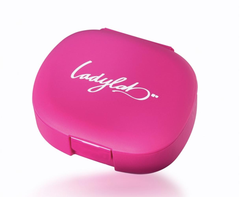 Ladylab Pill Box Barva: Růžová