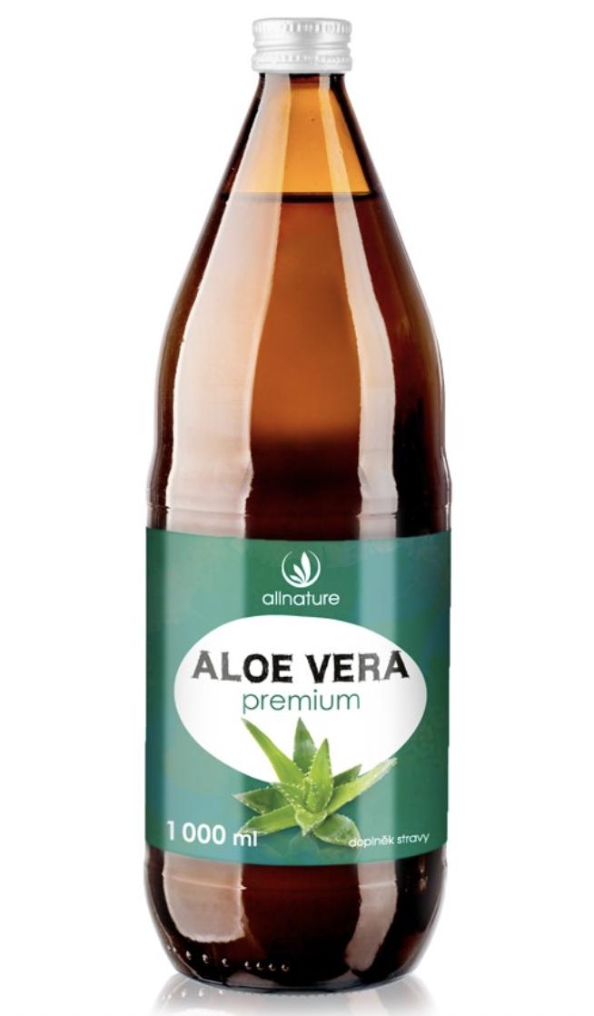 Allnature Aloe Vera Premium Hmotnost: 1000ml