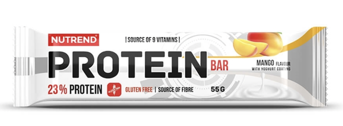 Nutrend Protein Bar Příchuť: Banán, Hmotnost: 55g