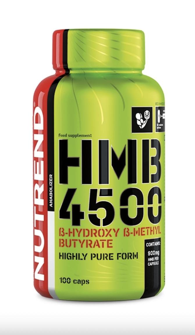 NUTREND HMB 4500 Hmotnost: 100 tablet