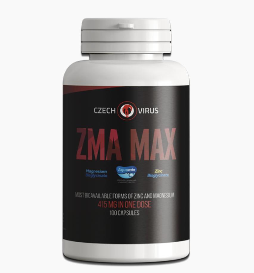 CzechVirus Czech Virus ZMA MAX Hmotnost: 100 tablet