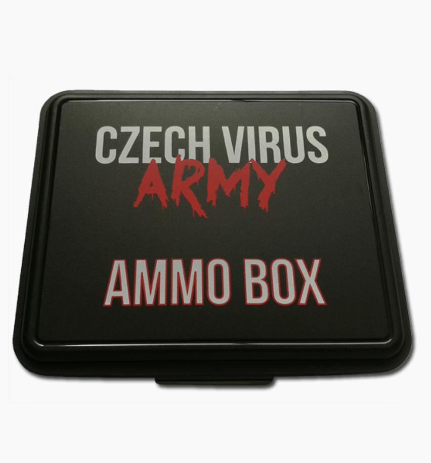 CzechVirus Czech Virus Pillmaster XL Box Barva: Černá