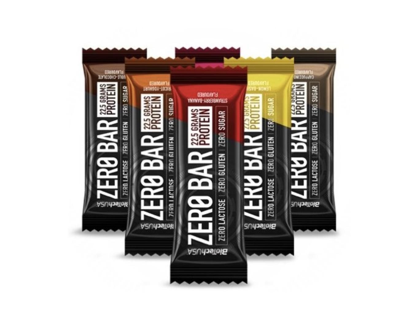 BioTech Zero Bar 50g Příchuť: Double čokoláda