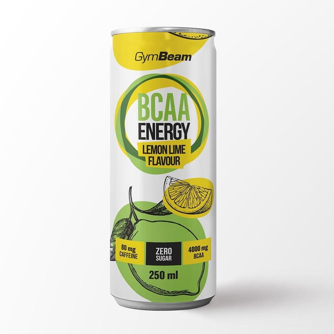 GymBeam Moxy BCAA+ energy Drink Příchuť: lemon lime, Hmotnost: 250ml