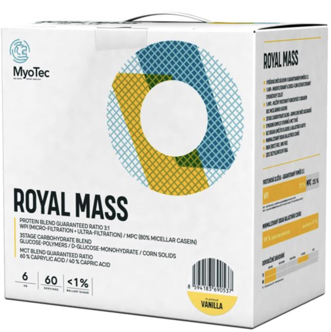 Myotec Royal Mass 6000g Příchuť: Vanilka