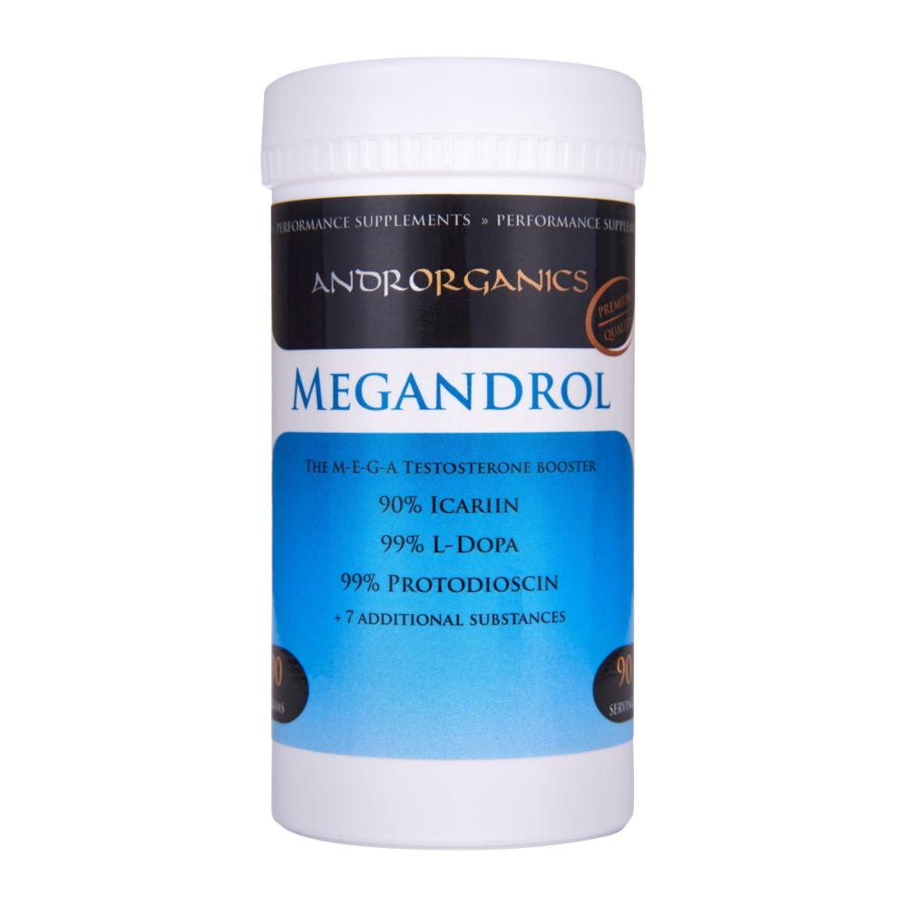 Androrganics Megandrol Hmotnost: 90g