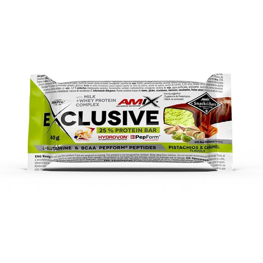 Amix Exclusive Protein Bar 85g Příchuť: Banán/čokoláda
