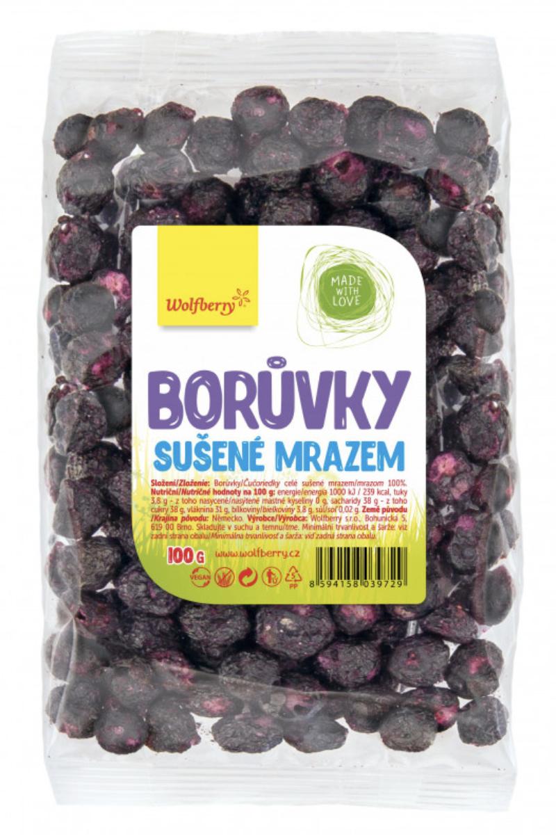 Wolfberry sušené plody Příchuť: Borůvky, Hmotnost: 100g
