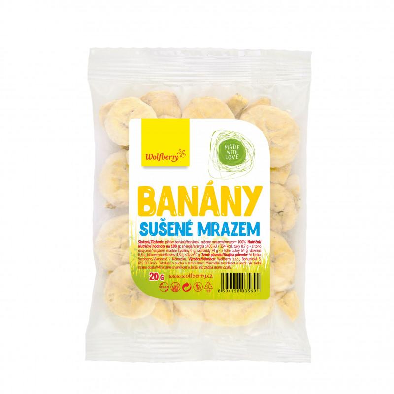 Wolfberry sušené plody Příchuť: Banán, Hmotnost: 20g