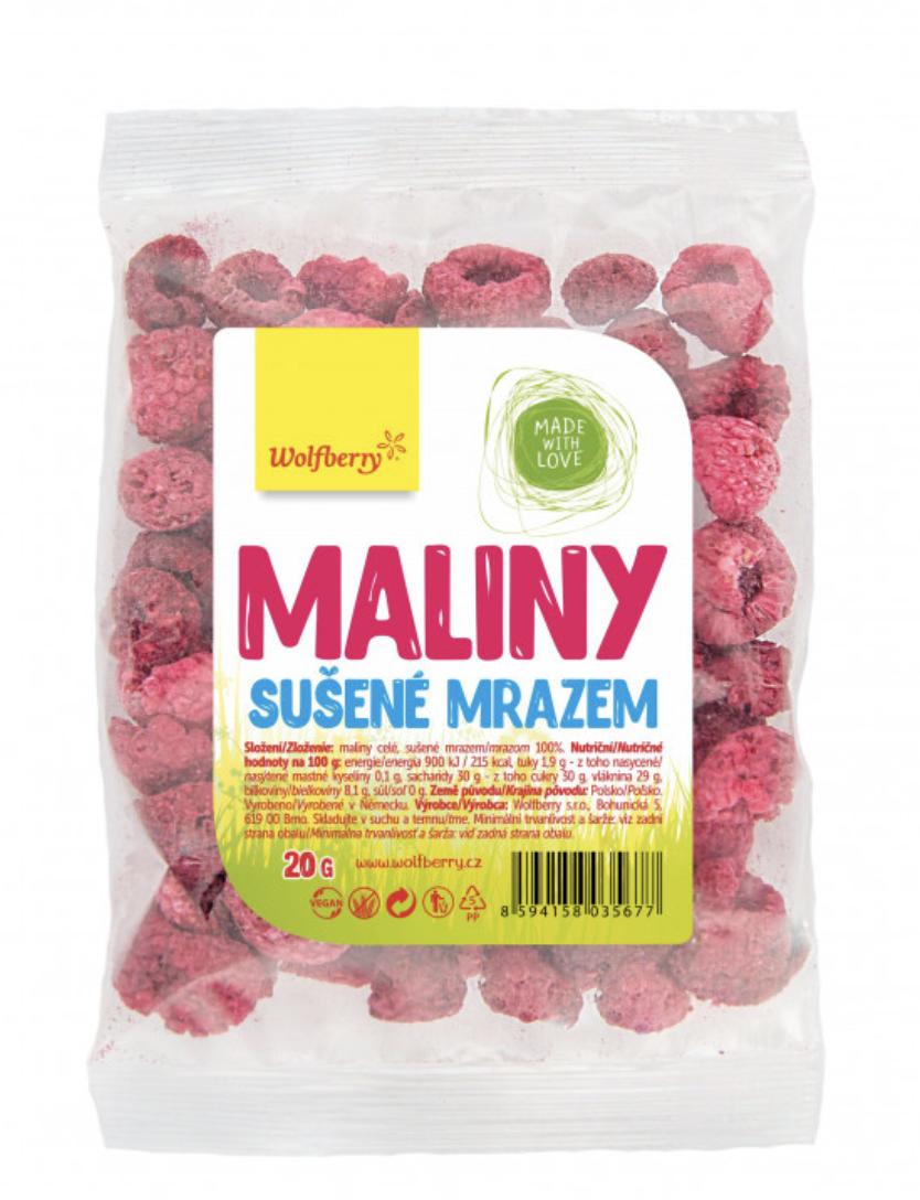 Wolfberry sušené plody Příchuť: Malina, Hmotnost: 100g