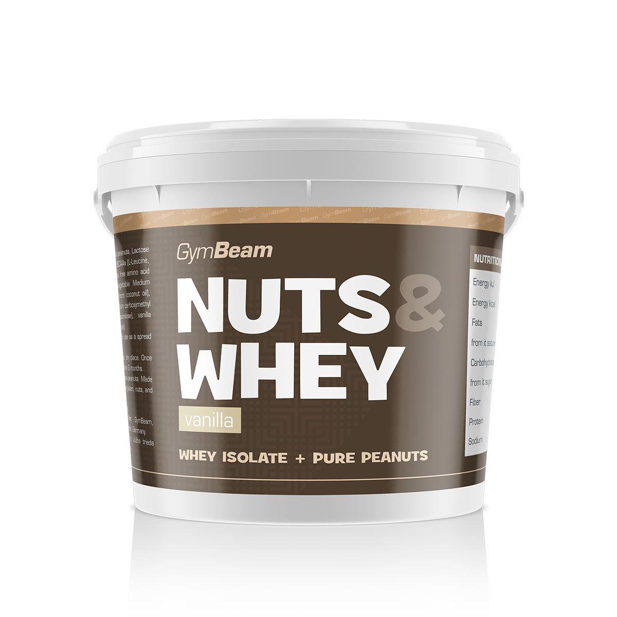 GymBeam Nuts & Whey 1000 g Příchuť: Čokoláda