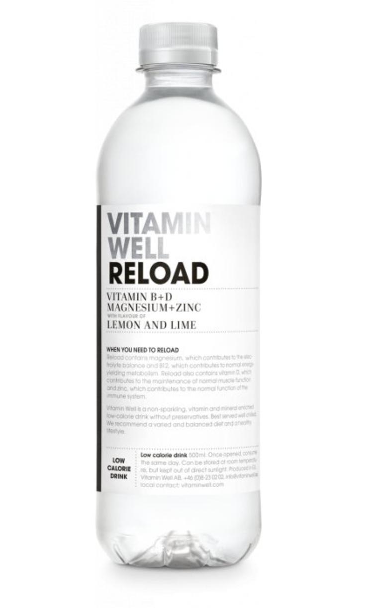Vitamin Well 500 ml Příchuť: RELOAD