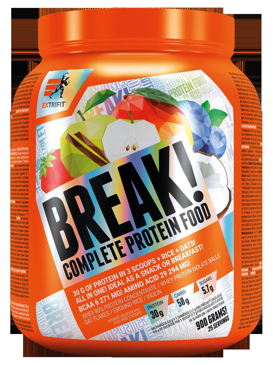 Extrifit Protein Break! Příchuť: Vanilka, Hmotnost: 900g