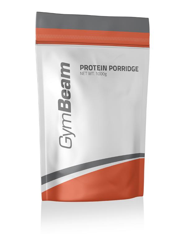 GymBeam Protein Porridge Příchuť: Jahoda, Hmotnost: 1000g