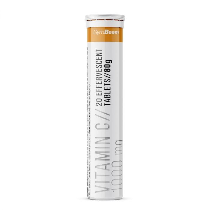 GymBeam Vitamín C 1000 mg 20 tab Příchuť: Pomeranč