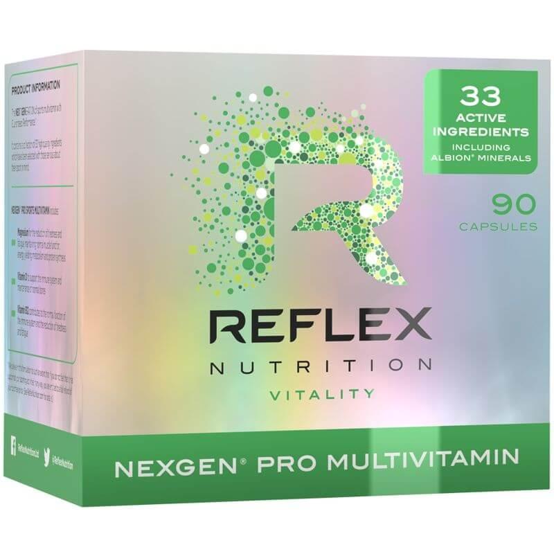 Reflex Nutrition Nexgen Pro Hmotnost: 90 tablet