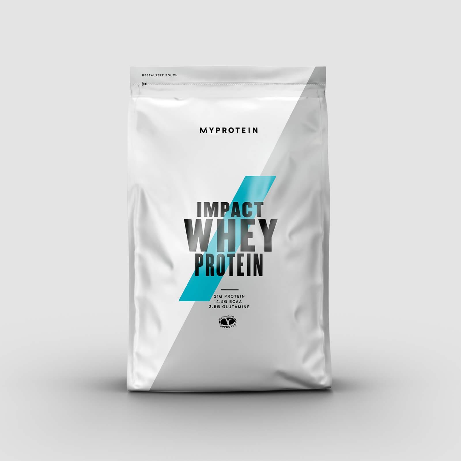 MyProtein IMPACT WHEY PROTEIN Příchuť: Bílá čokoláda, Hmotnost: 5000g
